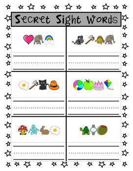 Secret Sight Words: Can You Break the Code? (K-1)