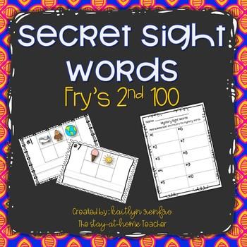Secret Sight Words - Fry's Second 100