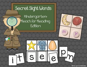 Secret Sight Words: Kindergarten Reach for Reading Edition