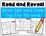Secret Sight Words Read and Reveal