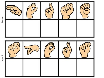 Secret Words Sign Language Bossy R Games