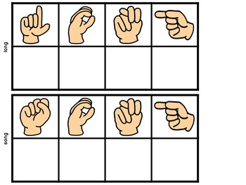 Secret Sign Language Ending Blends Words