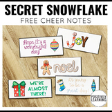 Secret Snowflake Free Notes