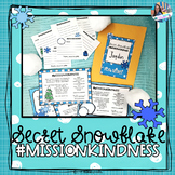 Secret Snowflake Kindness Notes