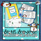 Secret Snowman Kindness Notes
