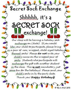 Secret Sock Exchange