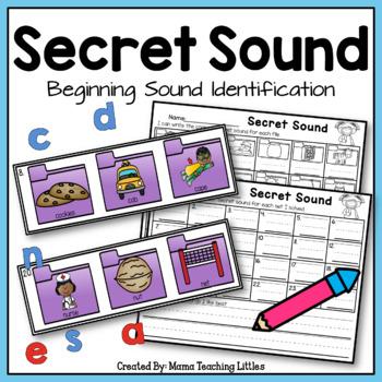 Secret Sound Beginning Sound Identification