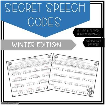 Secret Speech Codes for /L/, /R/, /S/: Winter Edition
