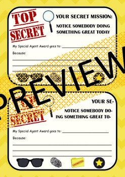 Secret Spy Award
