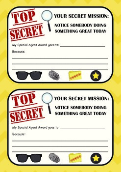 Secret Spy Award