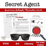 Secret Agent Theme Unit (Grades 3-6)