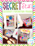 Secret Star {FREEBIE} Classroom Management
