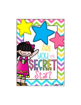 Secret Star {FREEBIE} Classroom Management