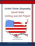 Secret States Project for Writing and Art: United States Geography