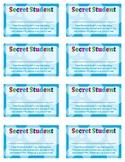 Secret Student Certificate