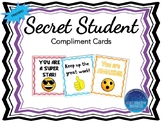 Secret Student Compliment Cards