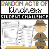 Secret Student Mission: Service Learning Project for Random Acts of Kindness