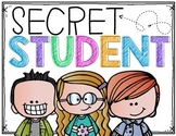 Secret Student Sign and Brag Tags