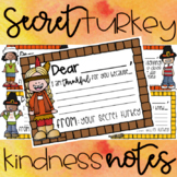Secret Turkey Kindess Notes