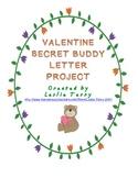 Secret Valentine Buddy Letter Project