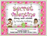 Secret Valentine {Literacy Center Activities}