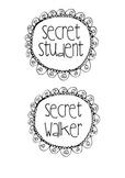 Secret Walker or Secret Student