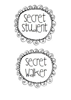Secret Walker or Secret Student