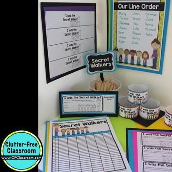 SECRET WALKER | Walking a Class in a Line | Line Up | Classroom Management