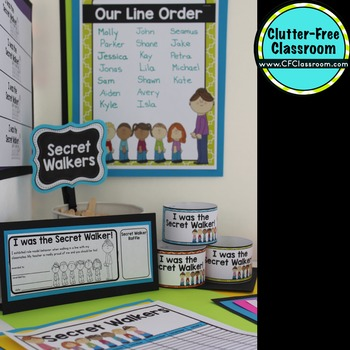 SECRET WALKER | Walking a Class in a Line | Line Up | Classroom Management