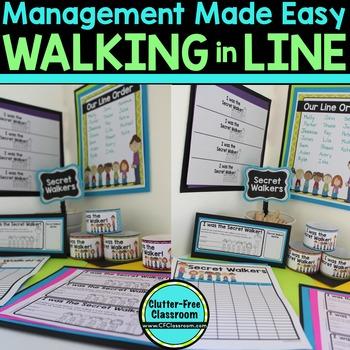 SECRET WALKER A Classroom Management Tool for Walking a Cl