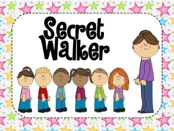 Secret Walker Poster