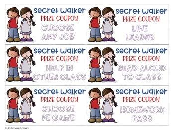 Secret Walker Prize Coupons