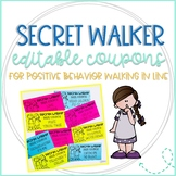 Secret Walker Prize Coupons