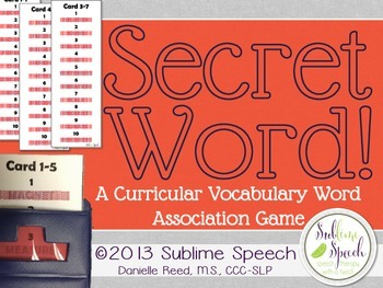 Secret Word: A Curricular Vocabulary Word Association Game