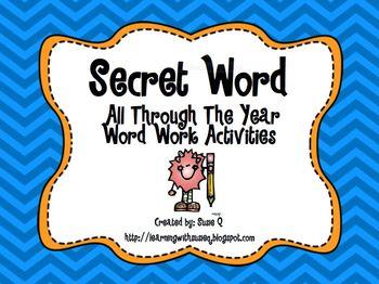 Secret Word All Through the Year