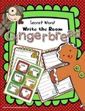 Gingerbread Man Write the Room Kindergarten | Write the Room First Grade