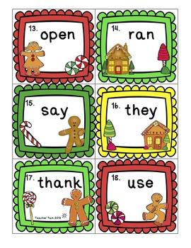 Gingerbread Man Writing Activities Write the Room First Grade Kindergarten