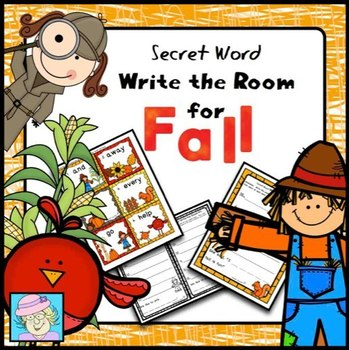 Fall Write the Room with Secret Words