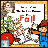 Write the Room Kindergarten | Write the Room First Grade Fall
