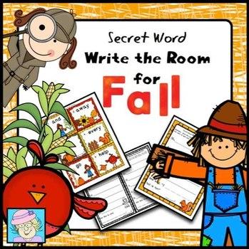 Fall Writing Activities for First Grade Kindergarten