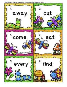 Secret Word Write the Room for Spring