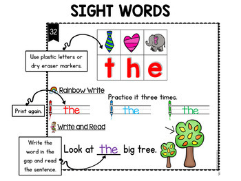 Phonics Activities First Grade Literacy Centers - Secret Words BUNDLE
