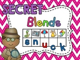 Secret Words - Beginning Blends Center Kids Love! (R S and L initial blends)