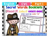 "Secret Words Booklets { CVC with ""a"" }"