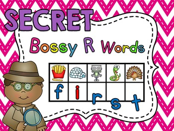 Secret Words - Bossy R Centers