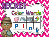 Secret Words - Color Words