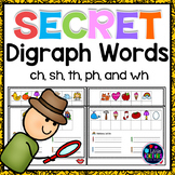 Consonant Digraphs Activities sh th wh ch ph qu | Digraphs Centers