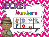 Secret Words - Number Words