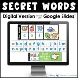 Secret Words Phonics Digital Version Distance Learning