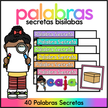 Secret Words Spanish - 30 Words